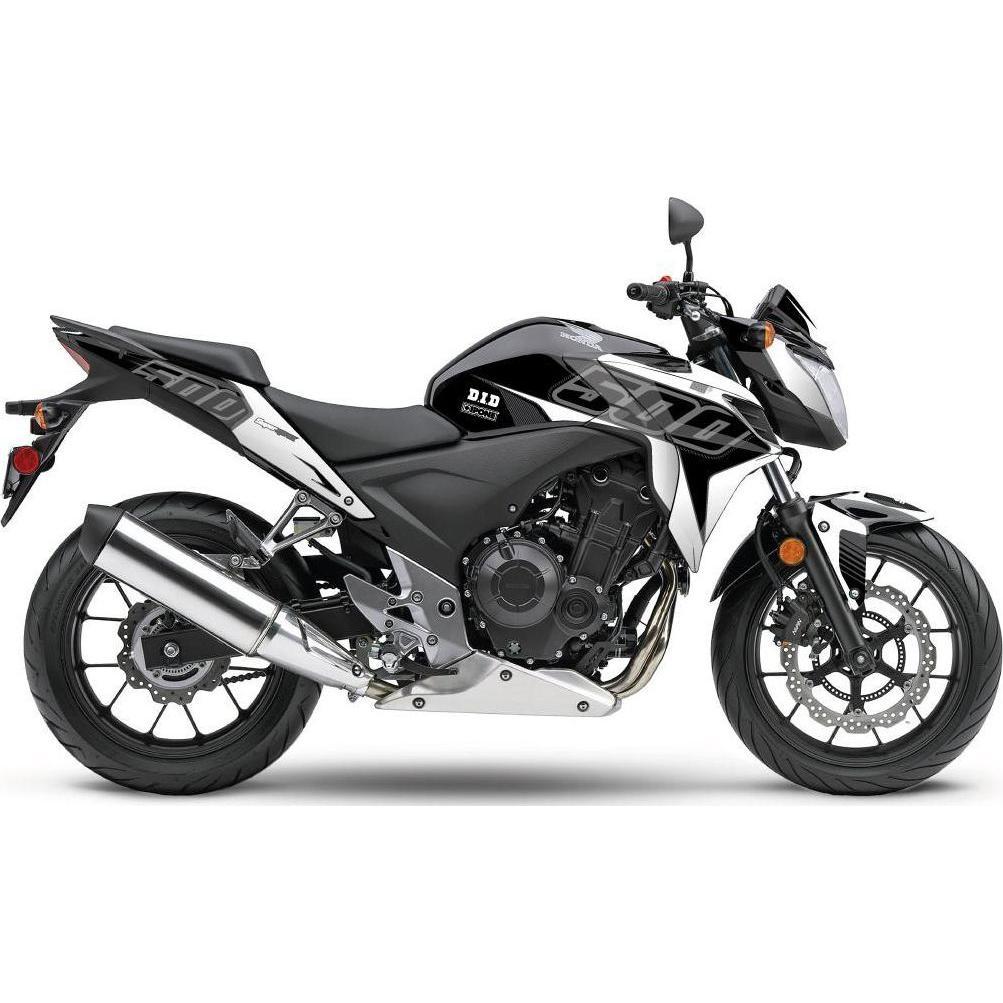 Kit déco Up Maximize noir / blanc Honda CB 500 F 13-15
