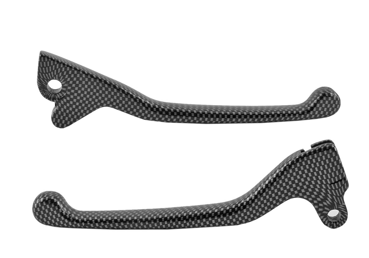 Paire leviers de frein Runner (disque-tambour) - Carbone