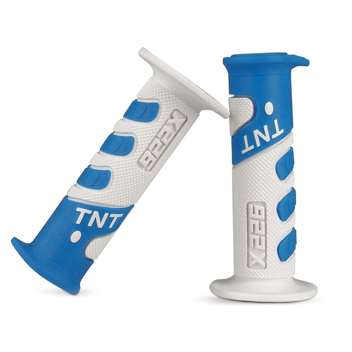 Revêtement poignée TNT cross blanc/bleu ciel 922x