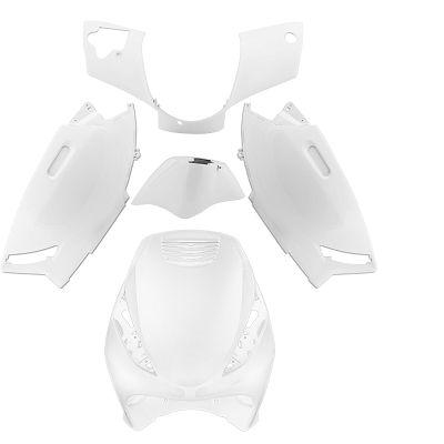 Kit carenage blanc TNT 5 pièces blanc pour Zip 50 2T