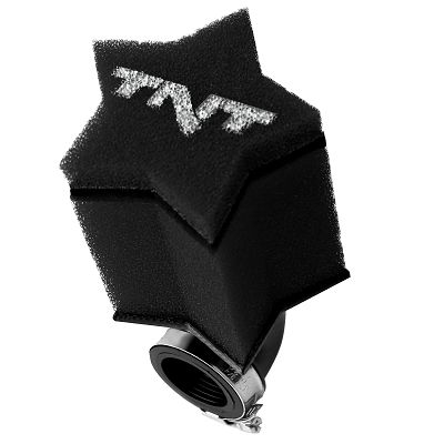 Filtre à air TNT Mousse Star 0 Ø28/35 Noir