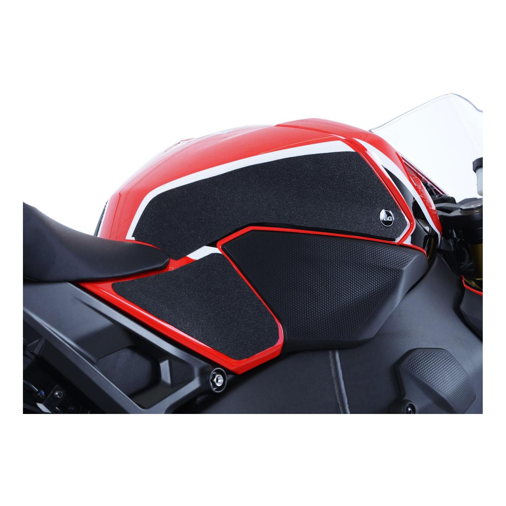 Kit grip de réservoir R&G Racing noir Honda CBR 1000 RR 17-18
