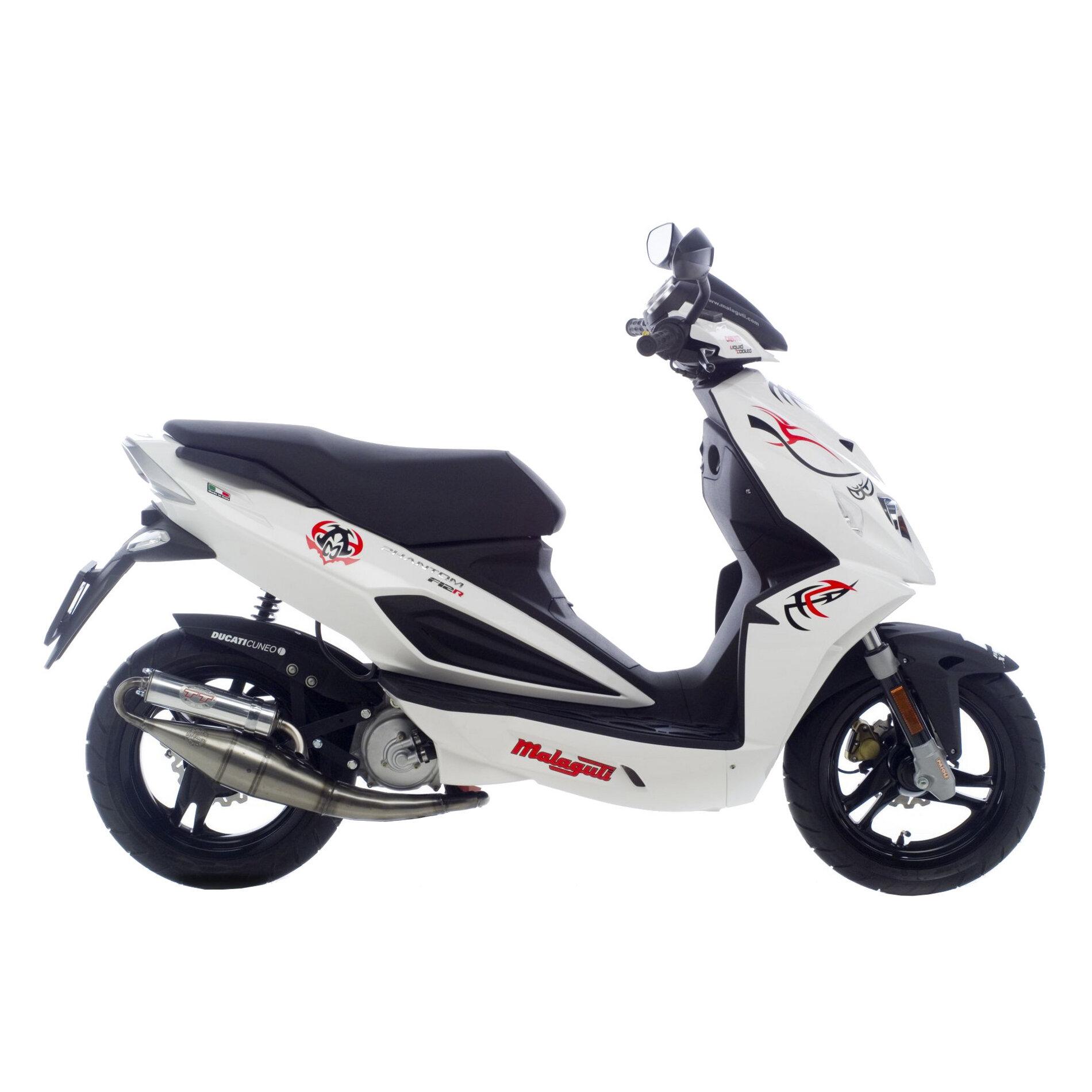 Pot déchappement scooter Leovince Hand Made TT pour Aprilia SR 50 R F