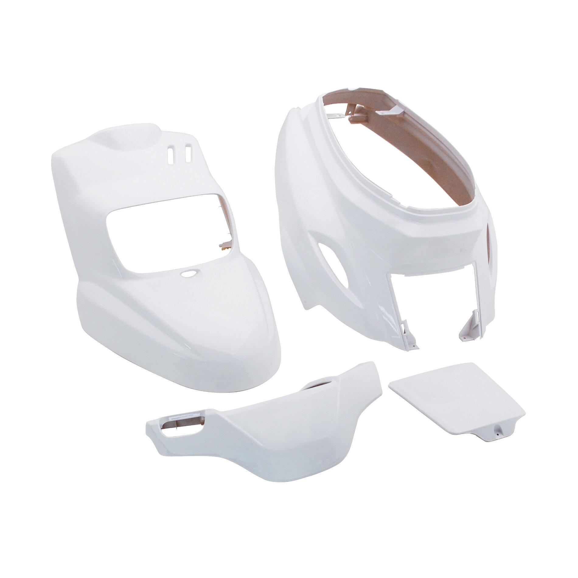 Kit carénage MBK Booster / Yamaha BW'S 2004- (4 Pièces) - Blanc