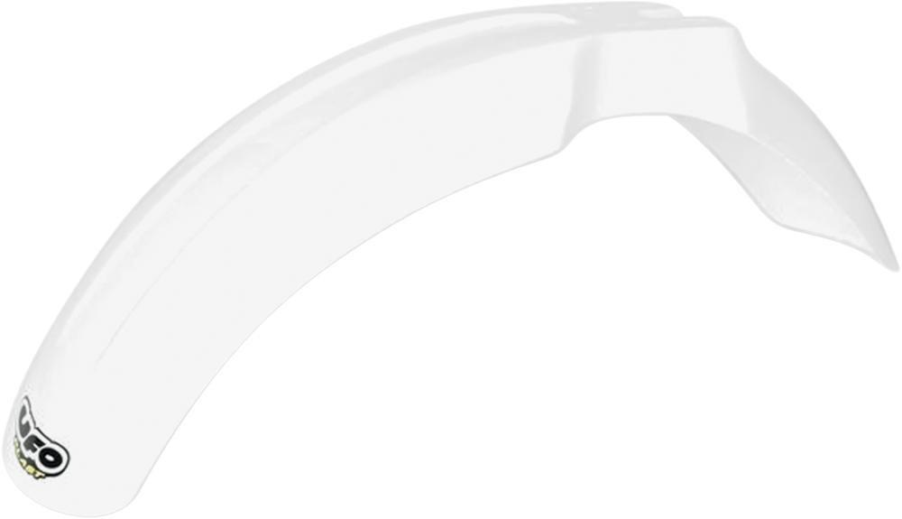 Garde-boue avant UFO Suzuki 125 RM 89-00 blanc