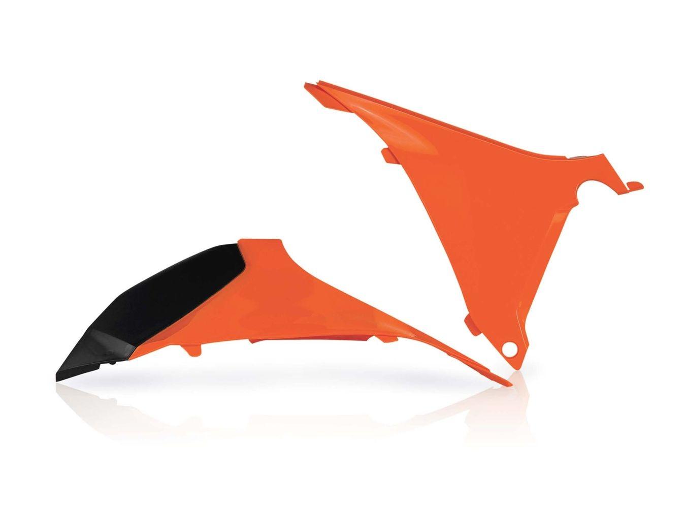 Cache de boîte à air Acerbis KTM 125/150 SX 2011 orange