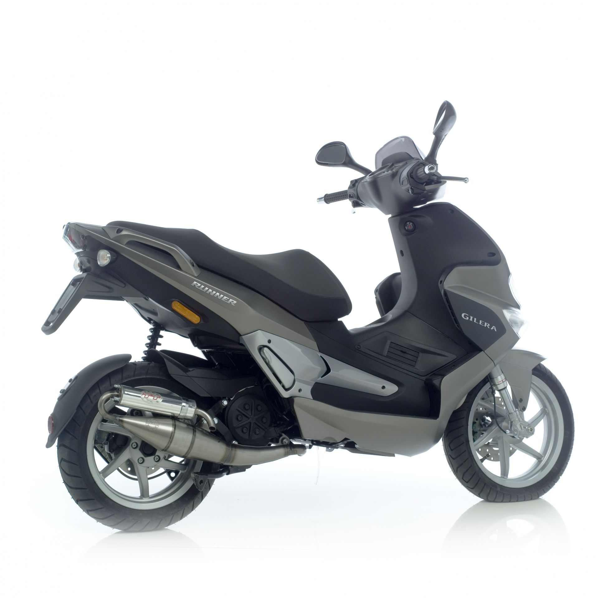 Pot déchappement scooter Leovince Hand Made TT pour Piaggio NRG=mc3 K