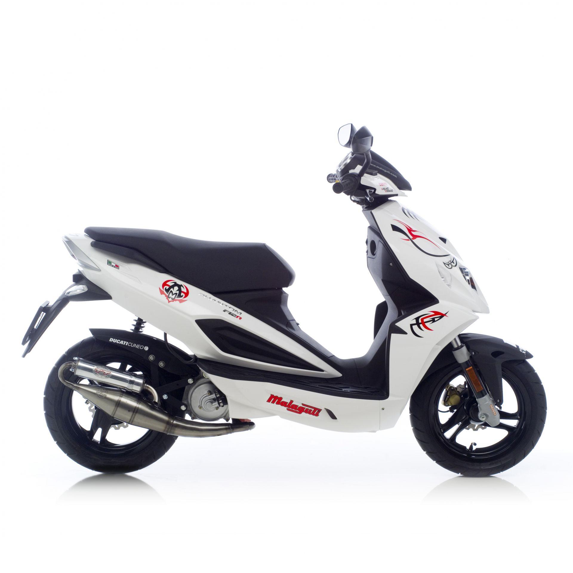 Pot d'échappement scooter Leovince Hand Made TT pour Aprilia SR 50 R Factory 04-12