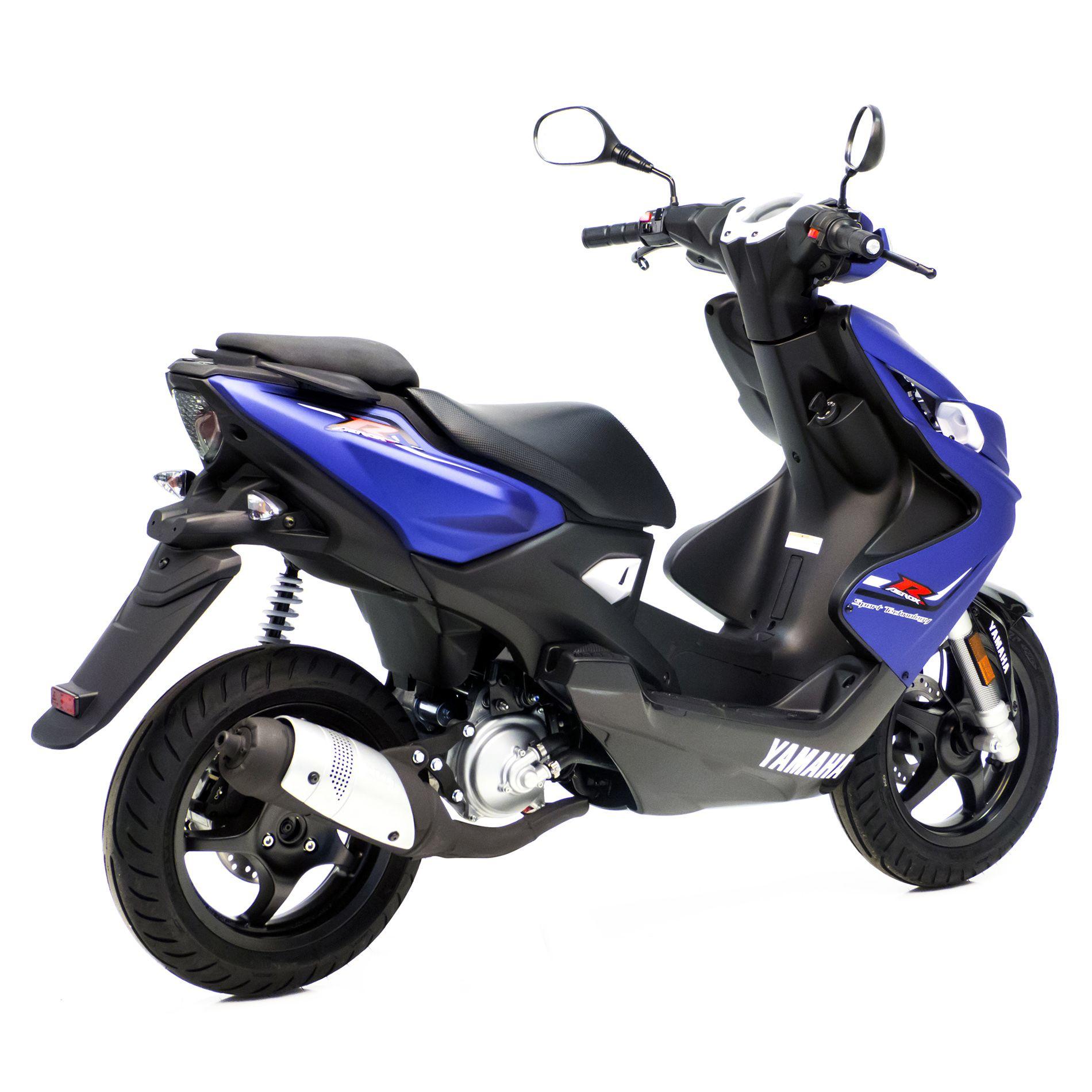 Pot déchappement scooter Leovince Touring pour Yamaha Aerox 50 04-12