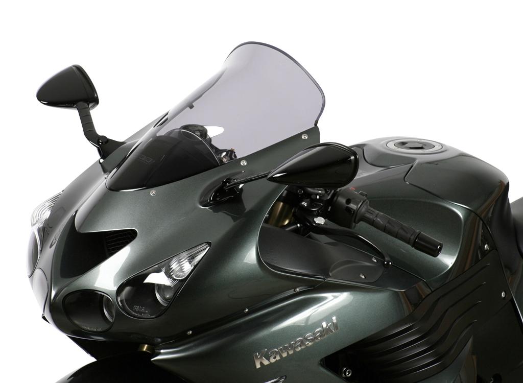 Bulle MRA Touring noire Kawasaki ZZR 1400 06-16