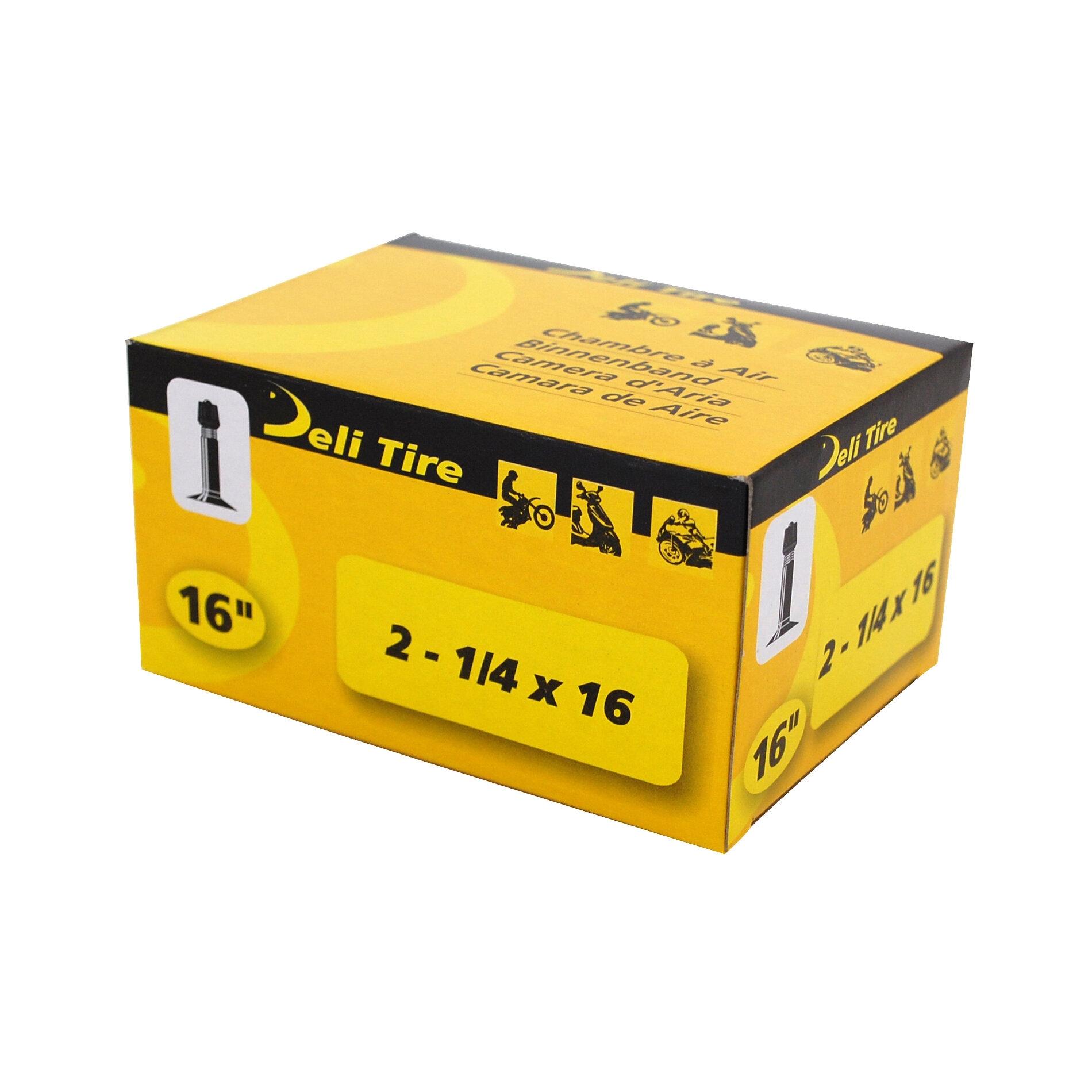 Chambre à Air 16 2 1/4x16 Vs Deli valve Droite
