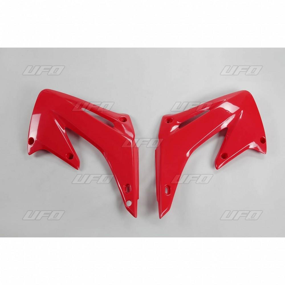 Ouïes de radiateur UFO Honda CR 250R 02-07 rouge (rouge CR 00-12)