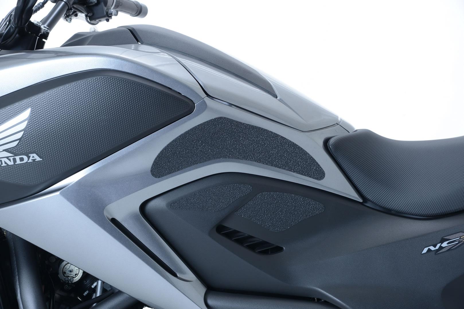Kit grip de réservoir R&G Racing noir Honda NC 750 X 14-15