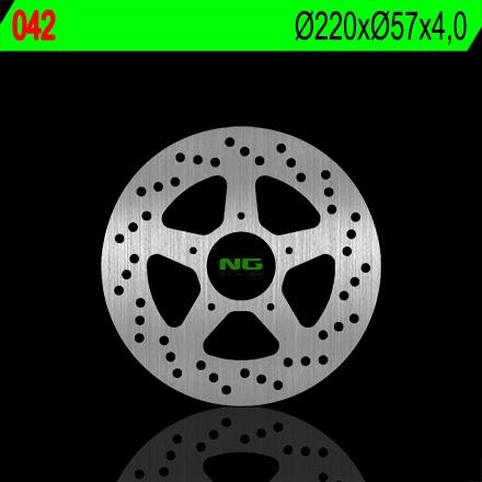 Disque de frein arrière droit NG Brake Disc D.220 - 042