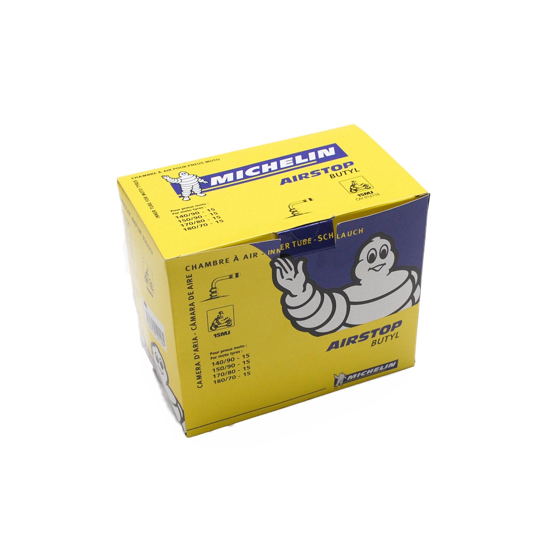 Chambre à air Michelin Street 140/90-15 valve coudée à 90