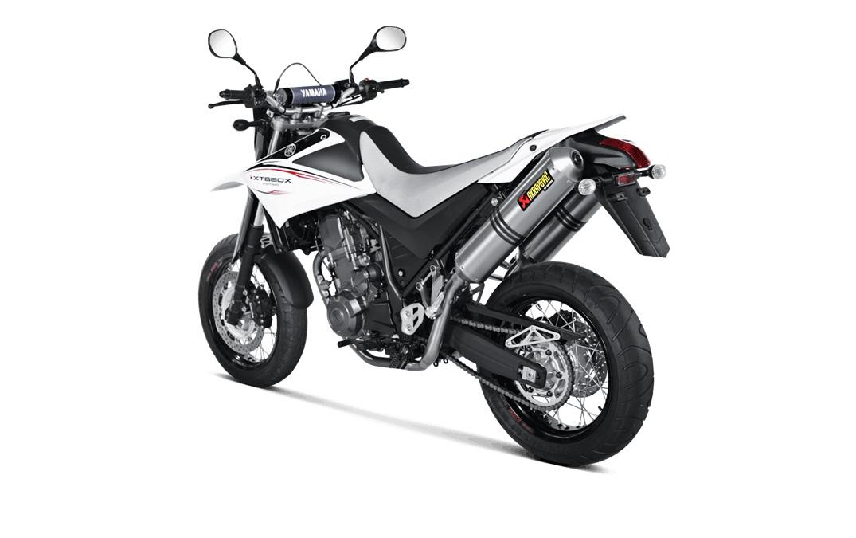 Silencieux Akrapovic Titane Yamaha XT 660 R / X 04-16 (la paire)