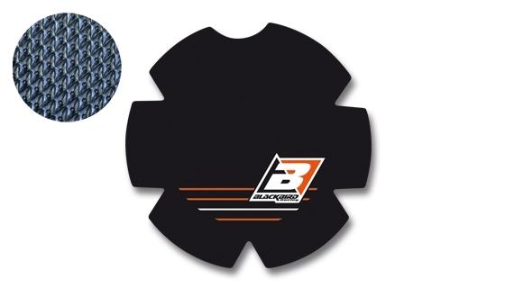 Stickers de couvercle d'embrayage Blackbird KTM 150 SX 16-17 orange/no