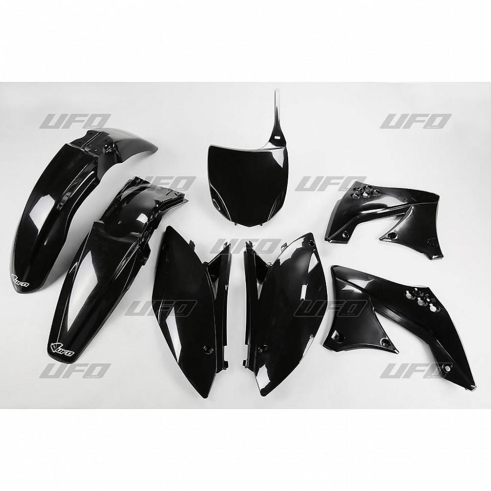 Kit plastique UFO Kawasaki 450 KX-F 09-11 noir
