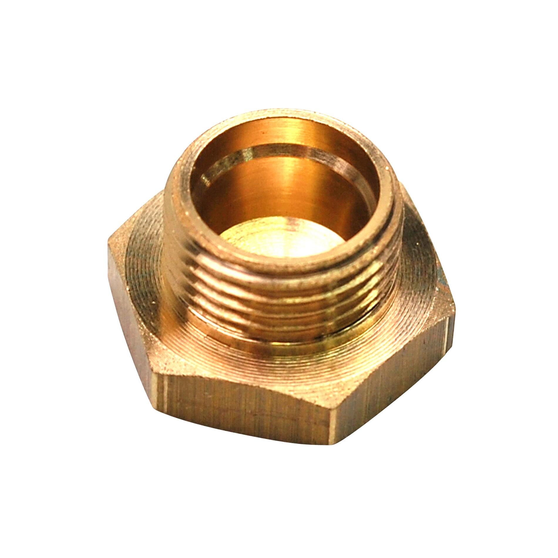 Bouchon pour cuve alu type Dellorto PHBG D.17-19-21mm