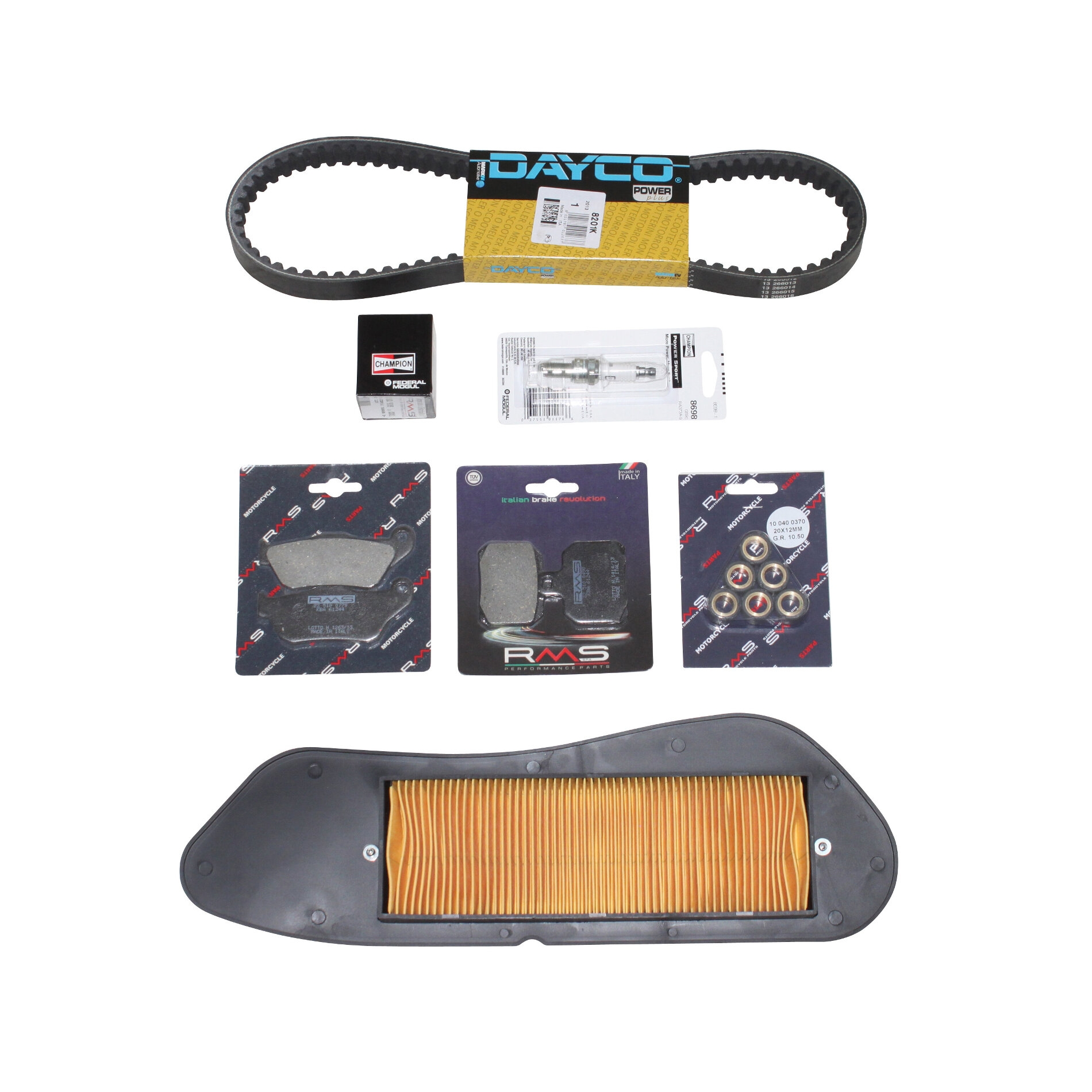 Kit entretien Yamaha X-Max 125 06-09