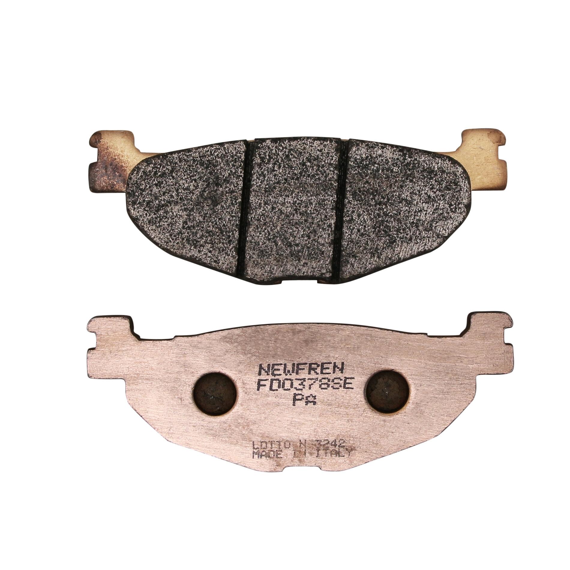 Plaquettes de frein Newfren SINT SCOOTER ELITE métal fritté FD0378 SE