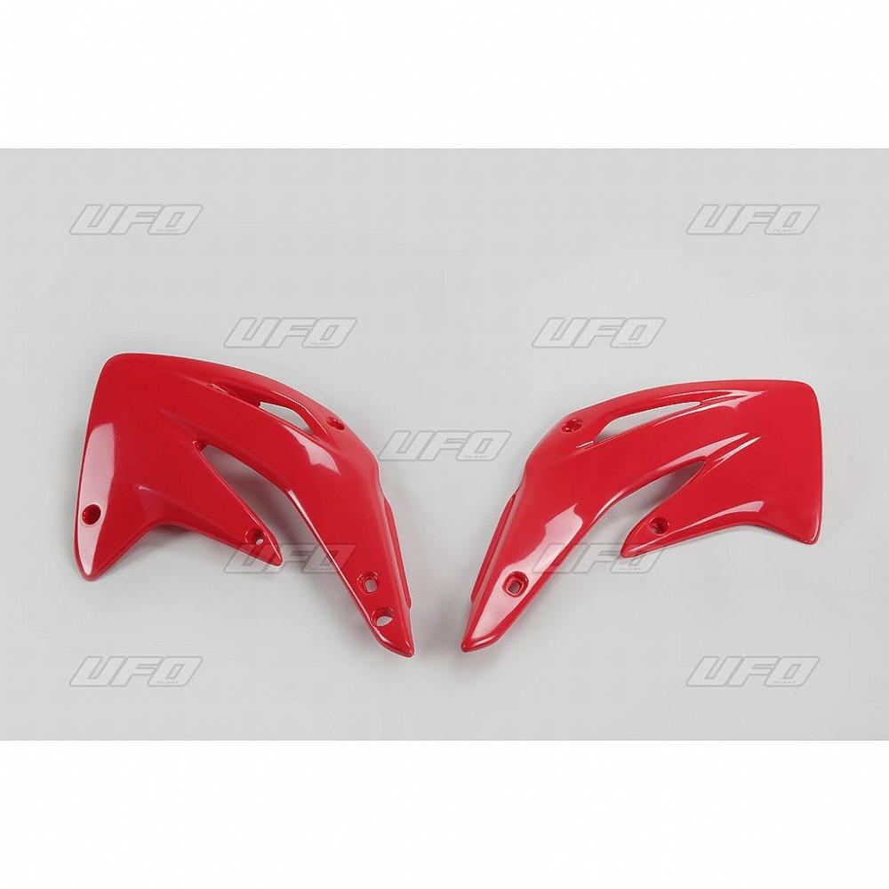 Ouïes de radiateur UFO Honda CR 85R 03-11 rouge (rouge CR 00-12)
