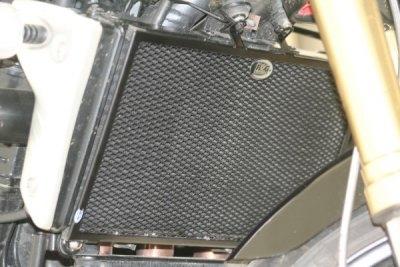 Protection de radiateur noire R&G Racing Yamaha YZF-R1 04-06