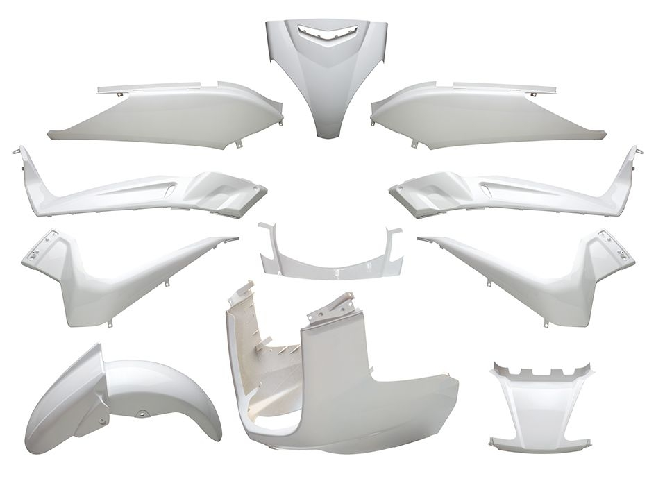 Kit Carénage Blanc X-Max 125 x11