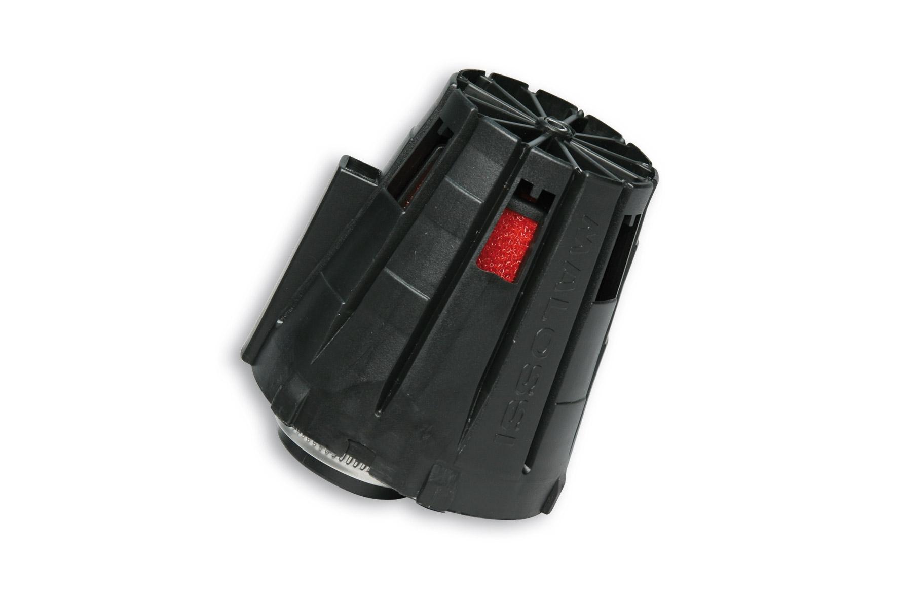 Filtre à air Malossi Red Filter E5 D.38 couvercle noir