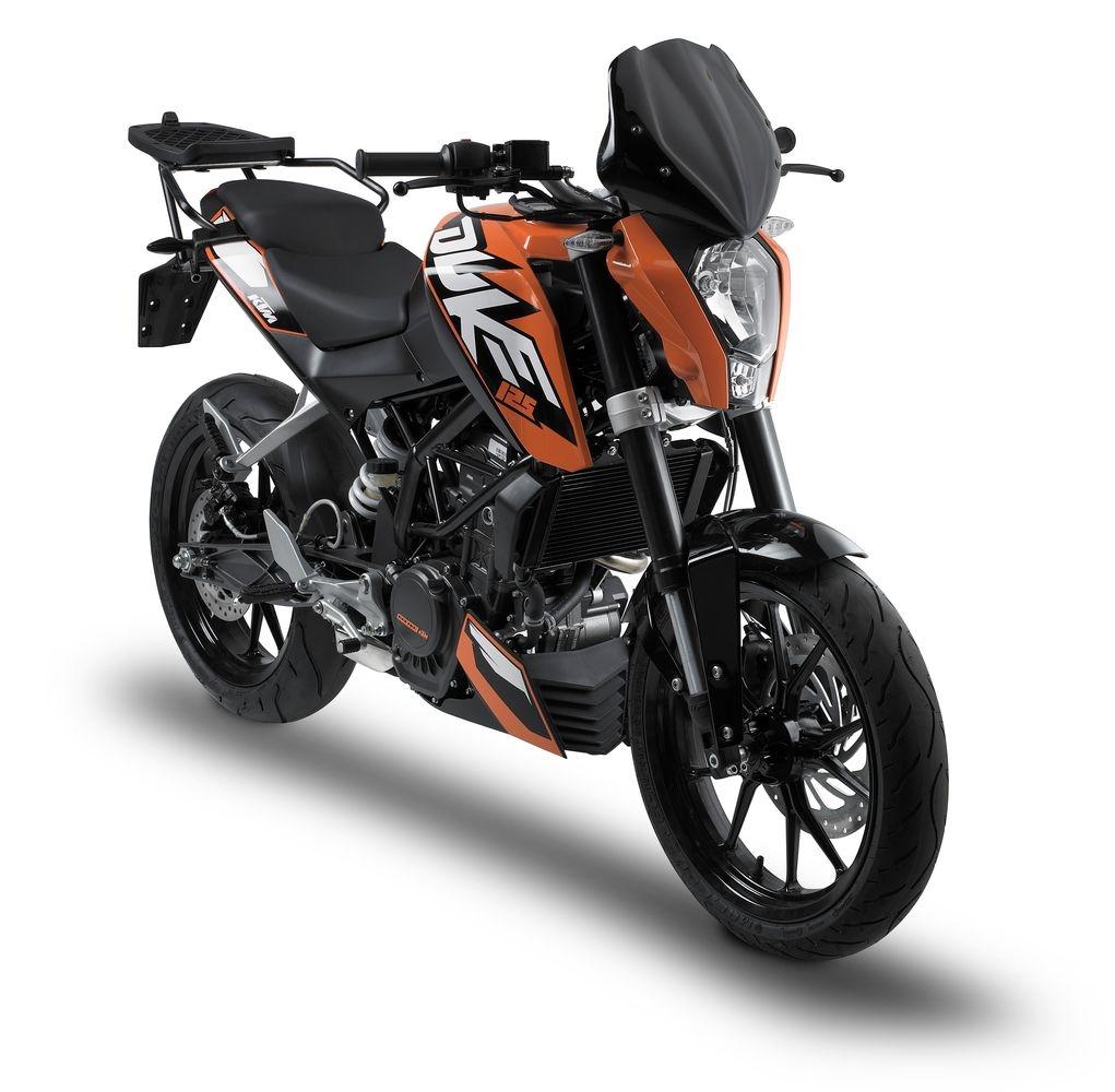 Kit fixation pour Givi 247A KTM Duke 125-200-390 11-14