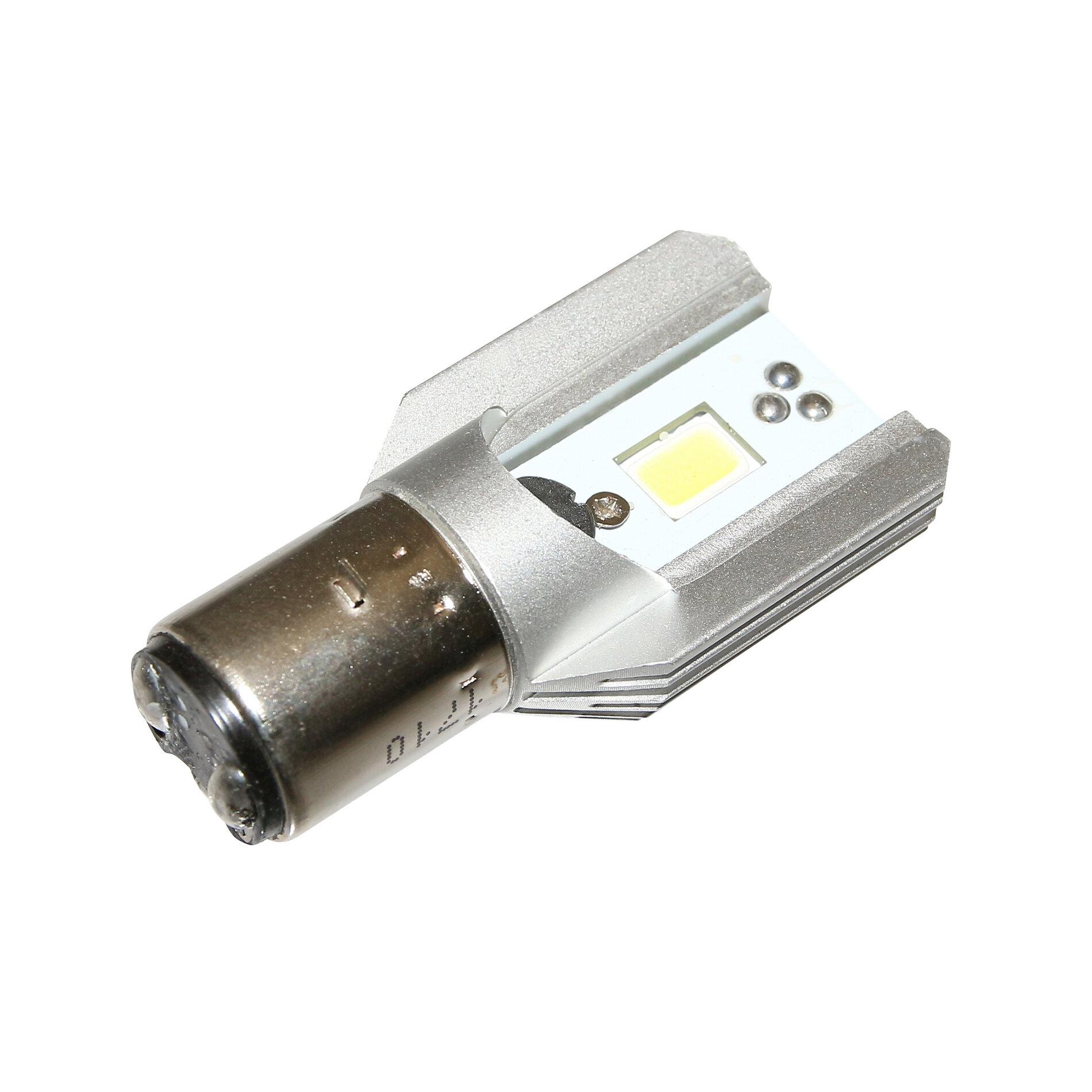 Ampoule LED Replay BA20D 12v lumens 6000K