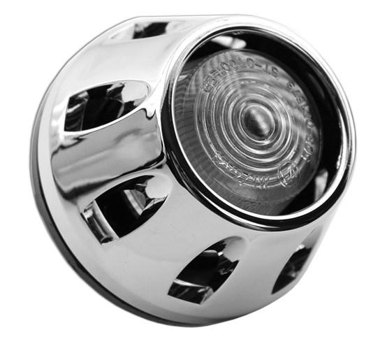 Éclairage Leds Type Bouton Ø 65 mm Chromé Vicma