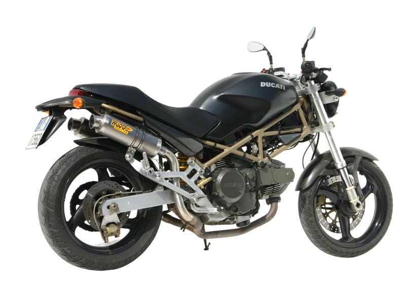 Silencieux double MIVV GP finition titane pour Ducati Monster 600 99-
