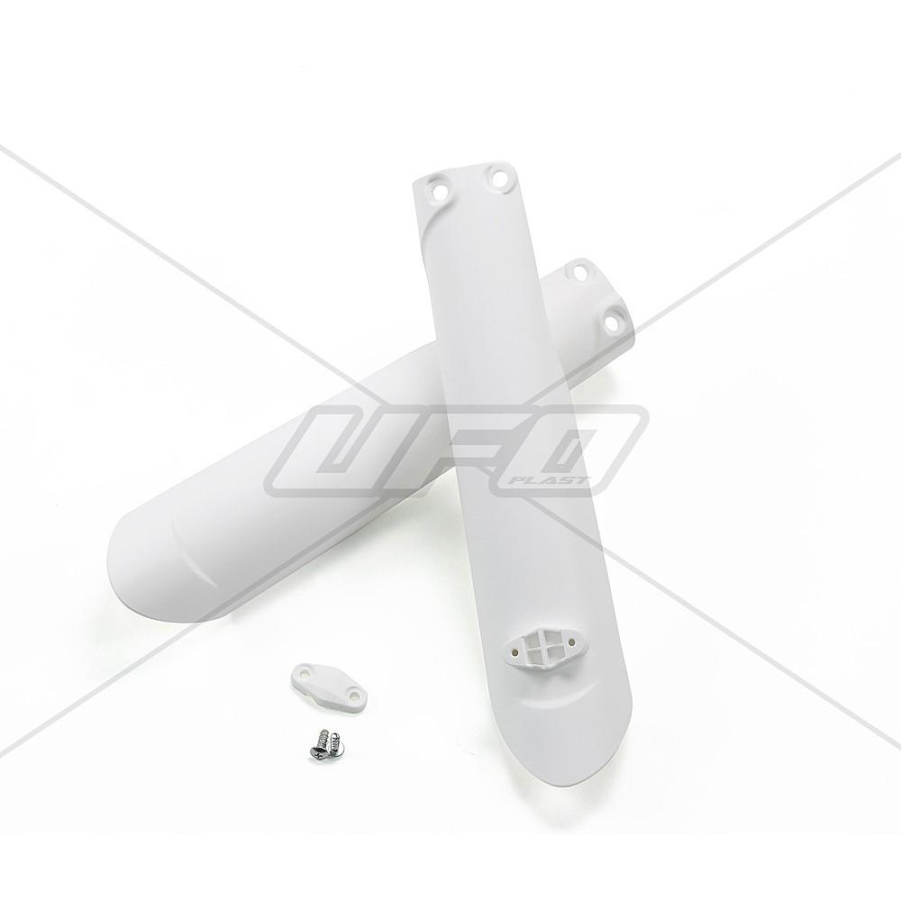 Protection de fourche UFO KTM 125 SX 2015 blanc (blanc KTM)