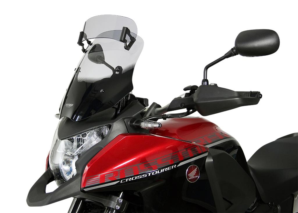Pare-brise MRA Vario Touring clair Honda VFR 1200 X Crosstourer 16-18