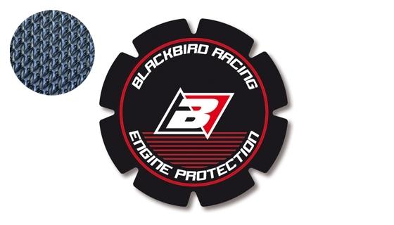 Stickers de couvercle d'embrayage Blackbird Honda CR 250R 93-07 rouge/