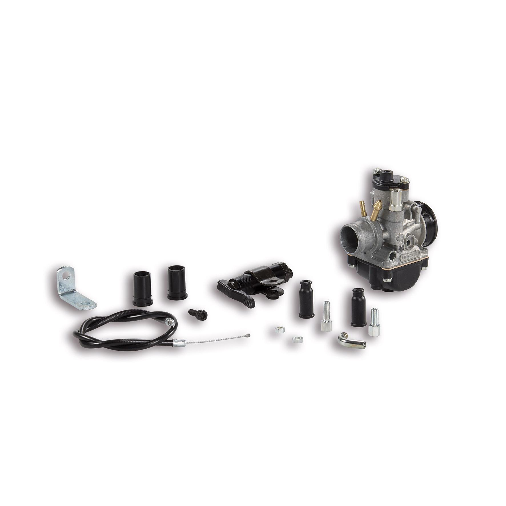 Kit carburateur Malossi PHBG 21 BD Piaggio Quartz Lc50