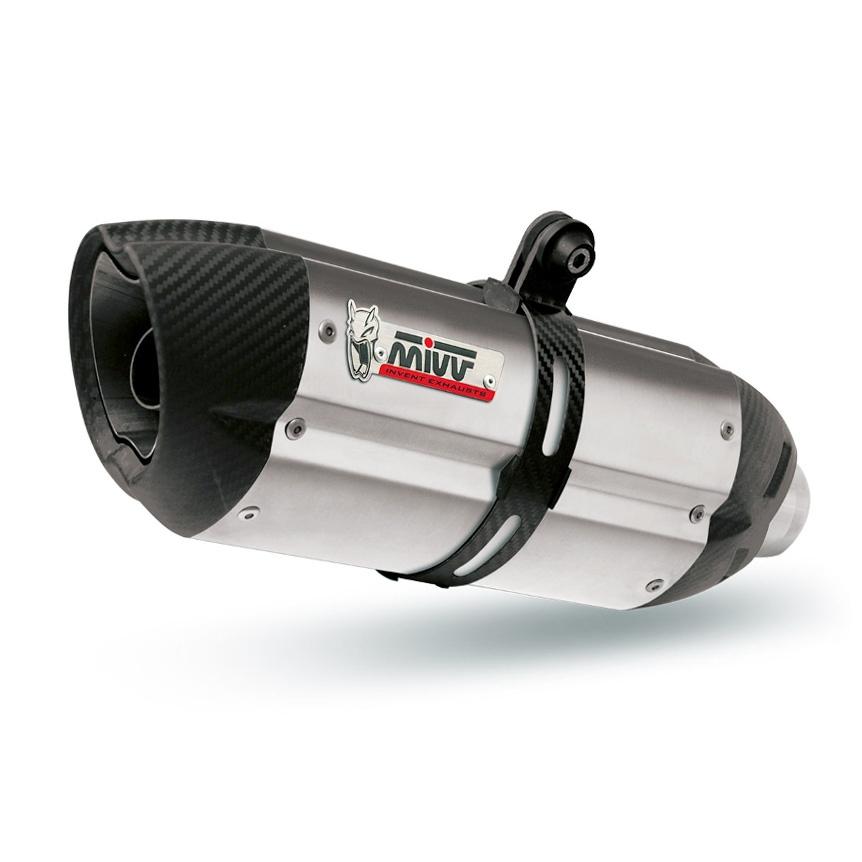 Silencieux MIVV Suono inox KTM 125 Duke 17-18
