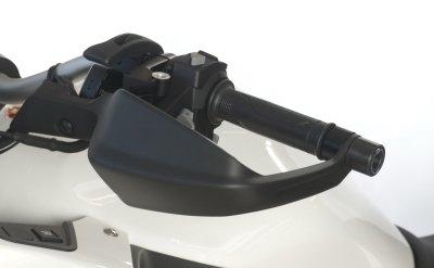Embouts de guidon R&G Racing noir Honda VFR 1200 X Crosstourer 12-17
