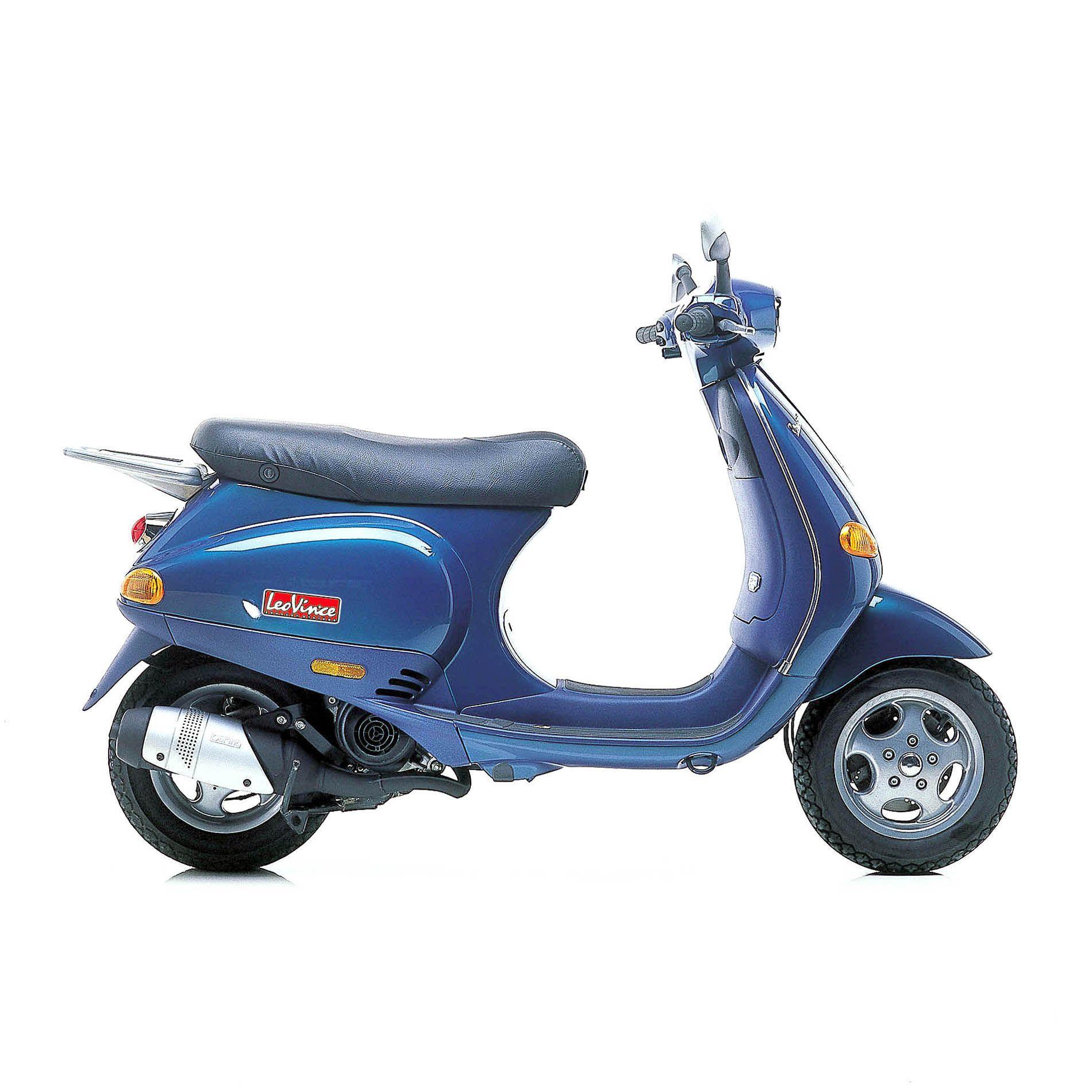 Pot d'échappement scooter Leovince Touring pour Piaggio Vespa 50 ET2