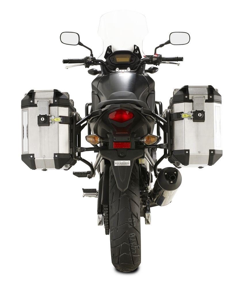Supports pour valises latérales Givi Trekker Outback Honda CB 500 X 13