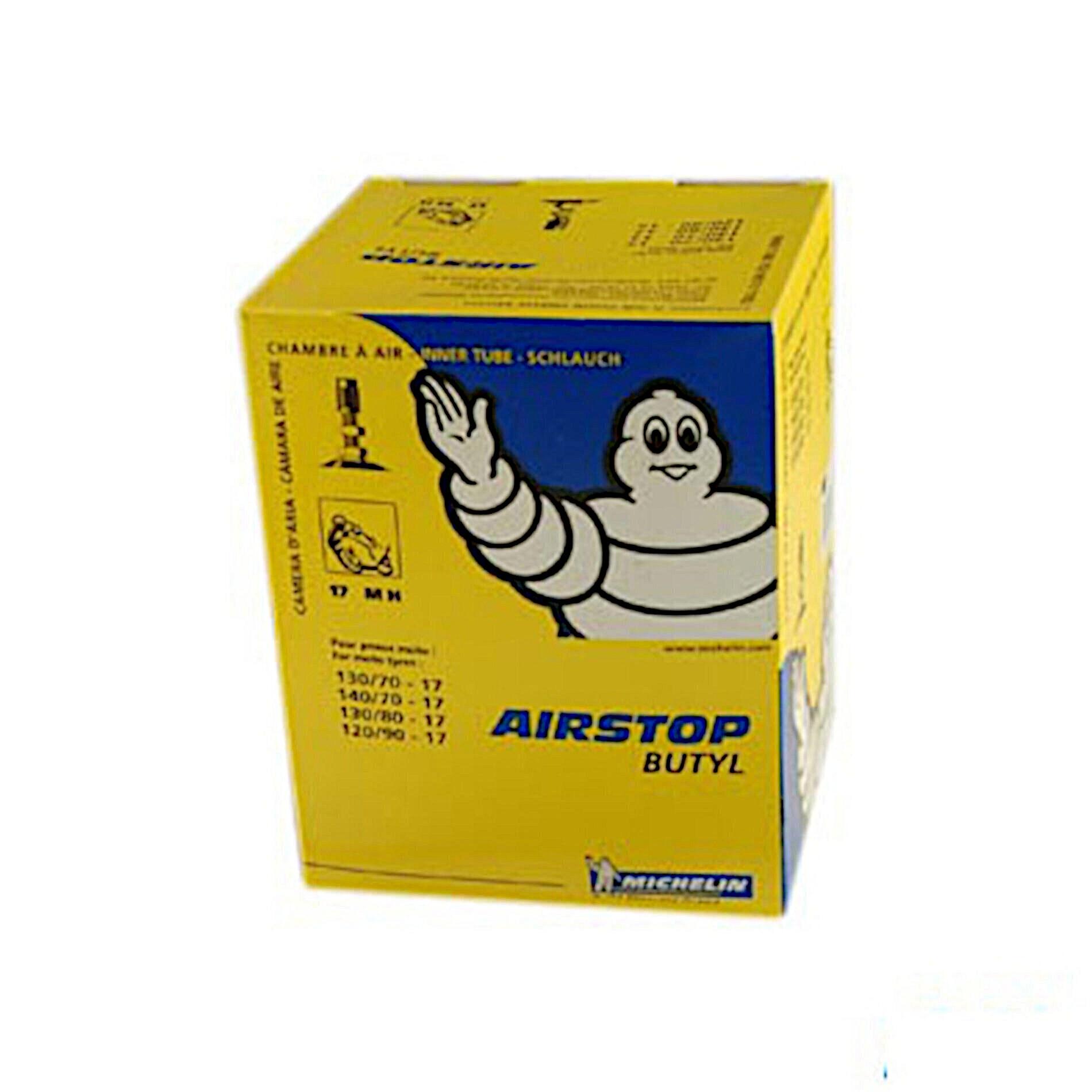 Chambre à air Michelin Street 120/90-17 valve droite TR4
