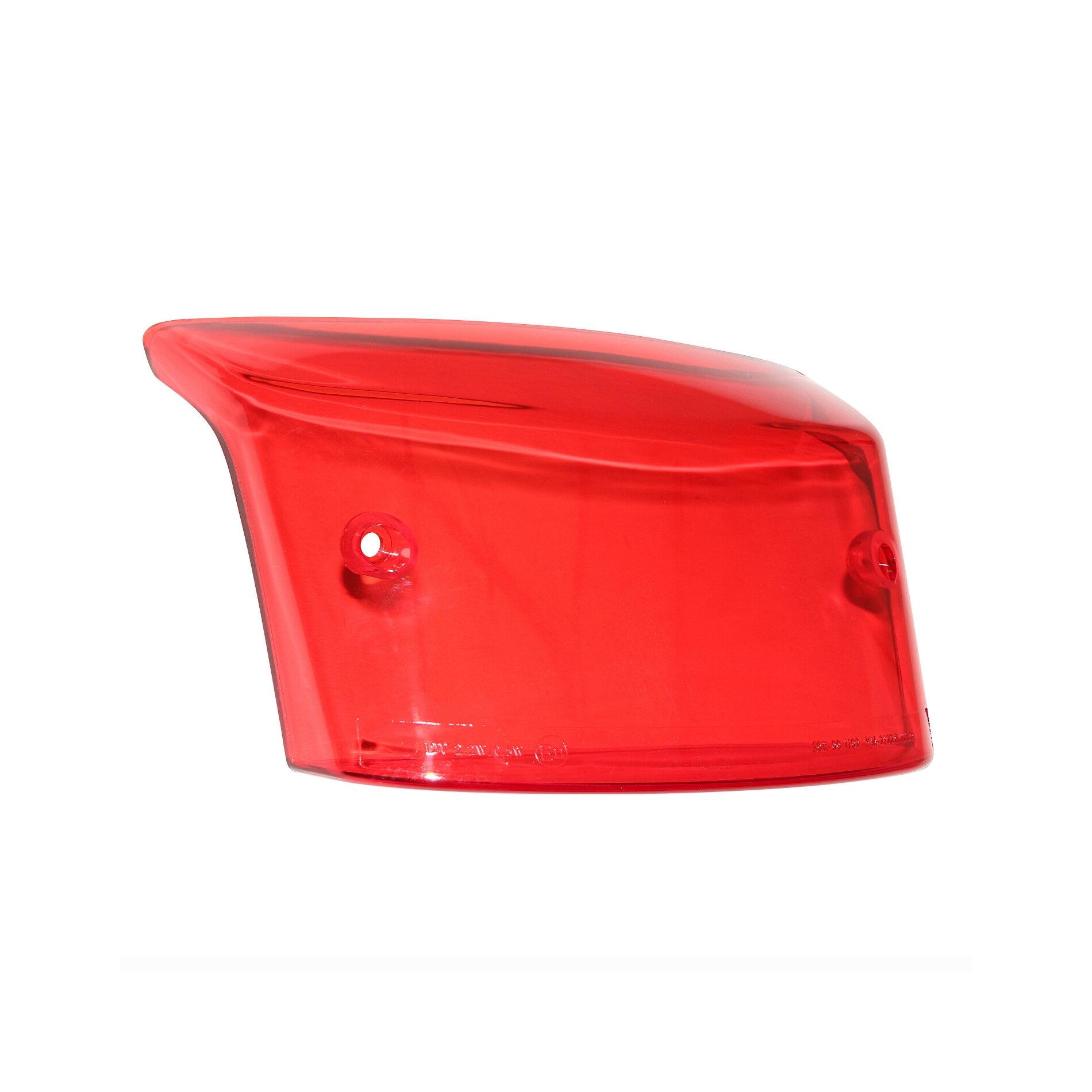 Cabochon feu arrière rouge adaptable MBK 50 Booster 2004>/Yamaha 50 BW