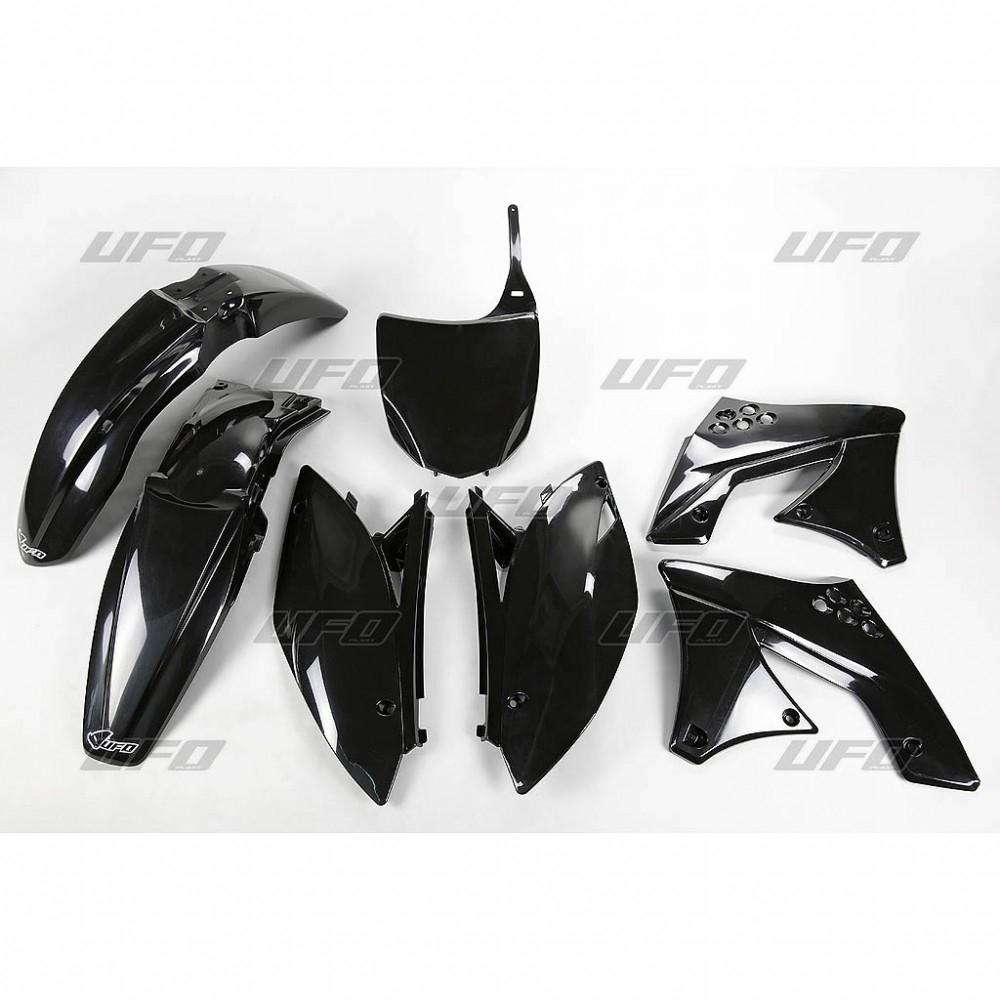 Kit plastique UFO Kawasaki 250 KX-F 2009 noir
