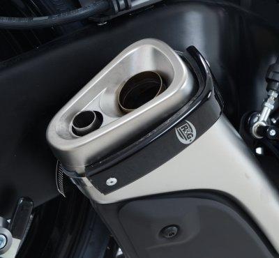 Protection de silencieux R&G Racing noir Honda CBR 125 R 11-17