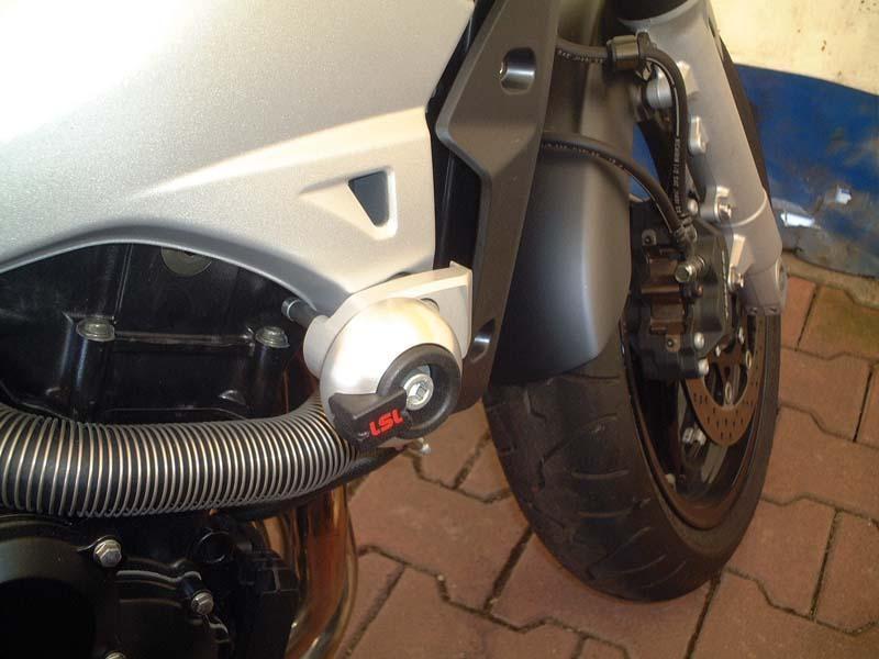 Kit fixation tampon de protection LSL Suzuki GSR 600 06-11 sans suppor