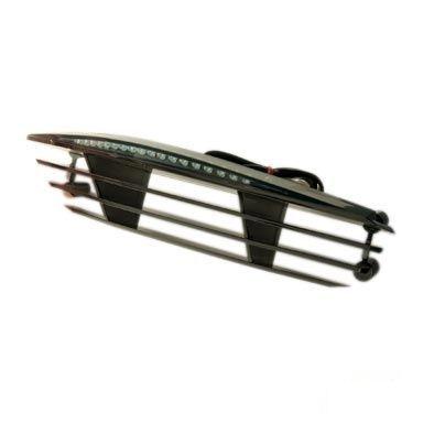 Feu arrière BCD RX avec ailettes MBK Booster / Yamaha Bw's noir