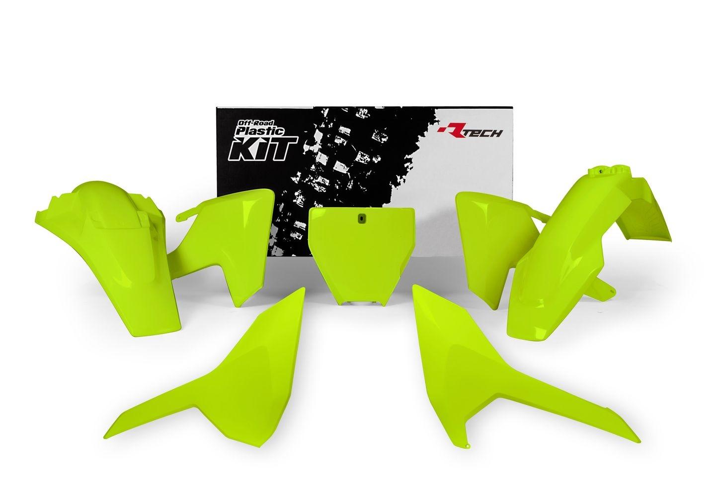 Kit plastique Racetech jaune pour Husqvarna TC 125 2016
