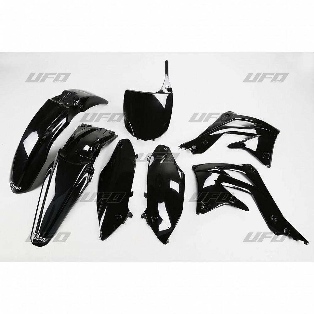Kit plastique UFO Kawasaki 450 KX-F 2012 noir