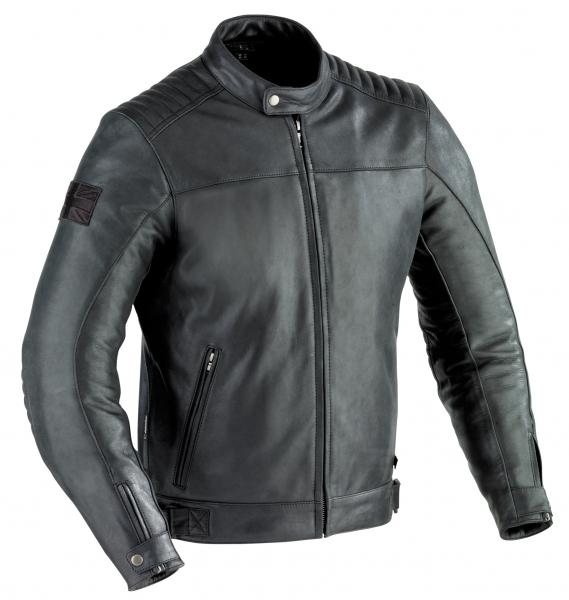Blouson cuir Ixon Mechanics Homme Noir - S